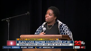 23ABC Community Connection: Black Lives Matter founder at BC