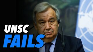 UN Security Council FAILS to end Israel-Gaza conflict