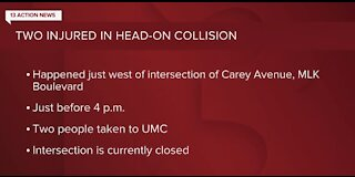 NLVPD: Crash near Carey Avenue, Martin Luther King Boulevard
