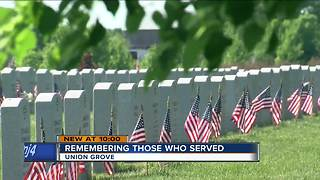 Families reflect on Memorial Day at veterans cemetery in Union Grove