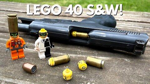 LEGO 40 S&W! (where every shot is a headshot!)