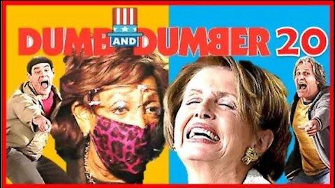 Maxine Calls for Violence; Nancy Slurs & Forgets Words - Dumb & Dumber 20