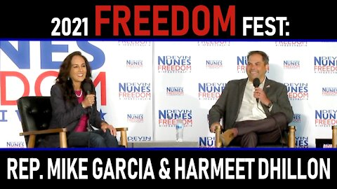 2021 Freedom Fest: Rep. Mike Garcia and Harmeet Dhillon