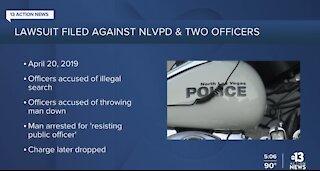 Man suing North Las Vegas Police Department