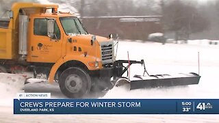 Kansas City area braces for winter weather on New Year's Day
