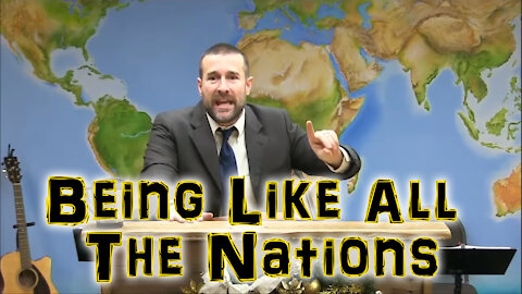 Being Like All The Nations | Steven Anderson Preaching