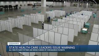 State health care leaders issue coronavirus warning