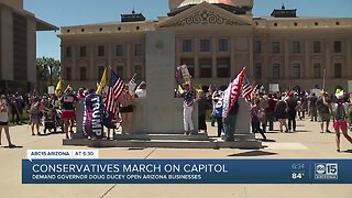 Conservatives march on capitol