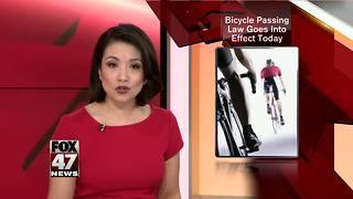 Bike law goes into effect