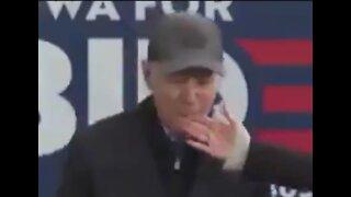THROWBACK: Creepy Biden Bites Wife's Finger During Speech
