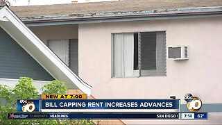 Bill capping rent increases advances in Sacramento