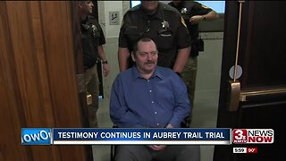 Aubrey Trail Finally Shows Up for His Murder Trial