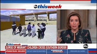 Pelosi Refuses To Call Border Crisis A Crisis And Continues To Blame Trump