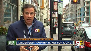 DWYM: Parking ticket issued for idling