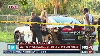 Two people taken into custody in Lora Street investigation