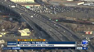 Central 70: New lanes are Express Lanes