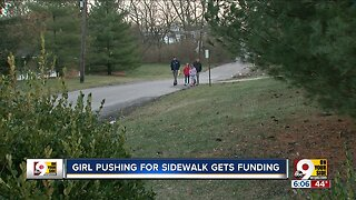 Cincinnati City Council takes final step toward Mt. Washington student's sidewalk request