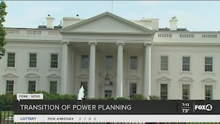 Transition of power planning