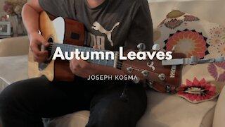 (Joseph Kosma) Autumn Leaves - Acoustic Cover - Two Hands