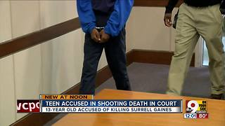 Teen accused in shooting death appears in court