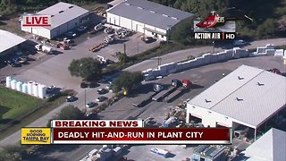 Plant City police search for driver in deadly hit-and-run