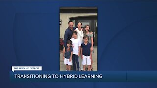 Metro Detroit parents consider transitioning kids to hybrid in-class learning