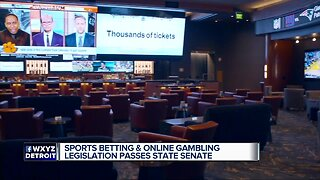 Michigan Senate panel OKs sports betting, online gambling