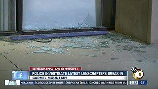 Carmel Mountain LensCrafters store burglarized