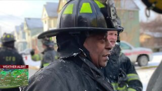 Cleveland Fire Department's most senior firefighter retires after 40 years of service