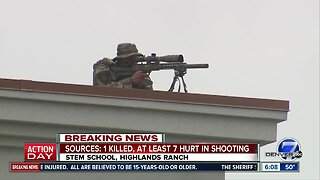 Snipers on roof near STEM School Highlands Ranch as FBI processes scene
