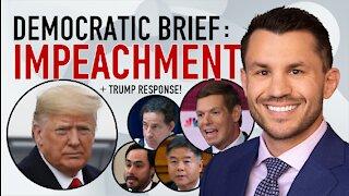 Democrats file Impeachment Memorandum, Donald Trump's Defense Team Responds Legal Analysis