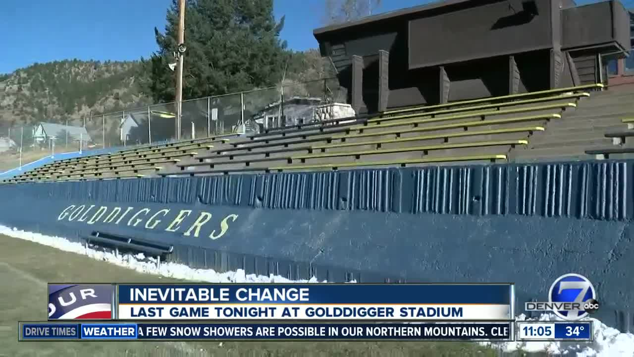 Last game Friday at Gold Digger Stadium