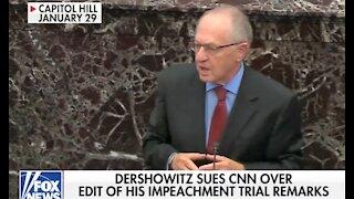 Alan Dershowitz files $300 million defamation suit against CNN