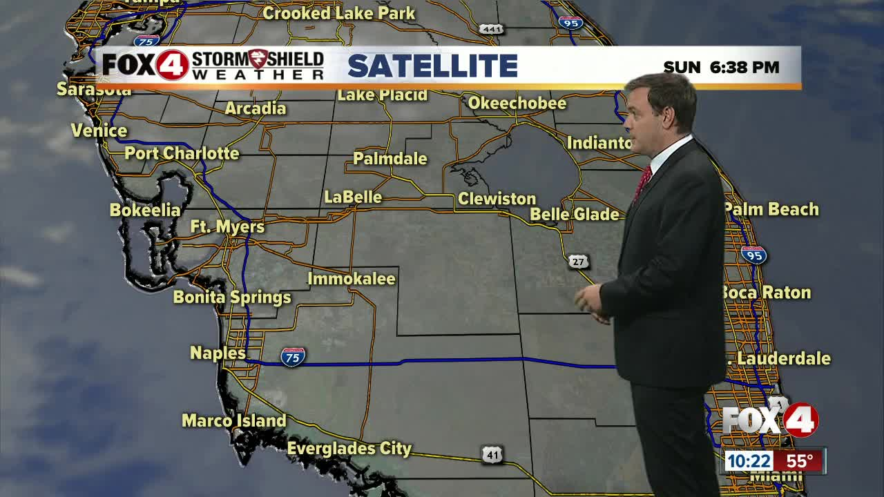 Forecast: A cloudy night in store with misty conditions heading into the morning commute