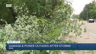 Ripon storm damage