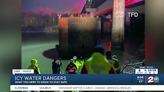Icy water dangers: What you need to know to stay safe