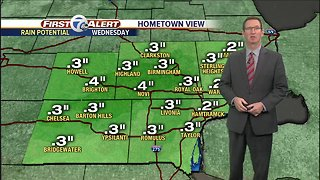 Metro Detroit Weather: First day of spring brings spring showers