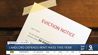 Landlord defends rent hikes this year