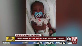 Deputies search for missing Manatee County baby, mother