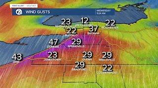 7 First Alert Forecast 5:30 a.m. Update, Wednesday, February 24