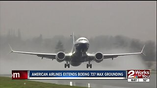 American Airlines extends Boeing 737 Max grounding