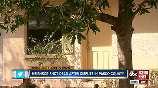 Deputies: Man shot, killed in Port Richey after threatening neighbor
