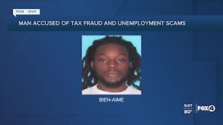 Man accused of tax fraud and unemployment scams