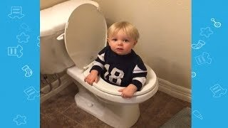 Baby doing Silly Things While Playing | Funny Fails Video