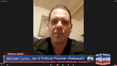 """Political Prisoner Michael Curzio EXPOSES Conditions Capitol """"Rioters"""" Experience While In Custody"""