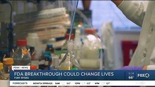 FDA breakthrough could change lives