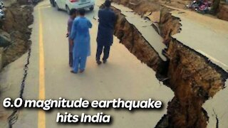 M.6,0 Earthquake has struck the Indian state of Assam, India