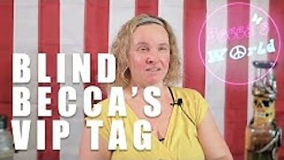 Blind Becca's VIP (Visually Impaired Person) Challenge
