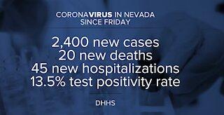 Coronavirus numbers for July 26, 2021