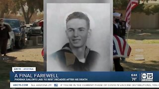 Phoenix sailor laid to rest decades after his death